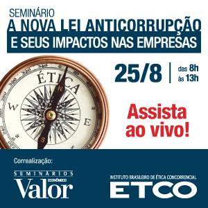 Seminário ETCO sobre Nova Lei Anti-Corrupção