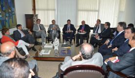 Reunião entre Senadores e o futuro Ministro da Fazenda, Joaquim Levy