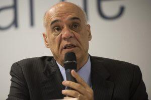Evandro Guimarães em evento sobre o Dia Nacional de Combate ao contrabando. (Foto: Marcelo Camargo/Agência Brasil)