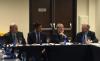 Da esquerda par direita: Victório de Marchi (Presidente do Conselho de Administração), Senador Ricardo Ferraço (PSDB-ES), Everardo Maciel (Presidente do Conselho Consultivo), Marcílio Marques Moreira (Conselheiro)