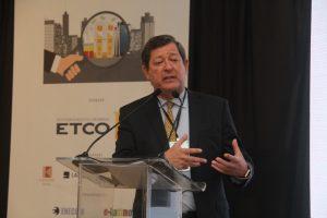 Edson Vismona, presidene do ETCO, no 12º ENECOB