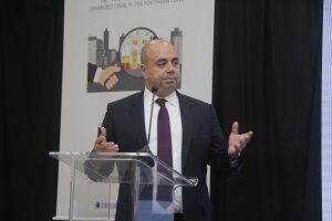 Fernando Mendes, presidente eleito da AJUFE, durante o 12