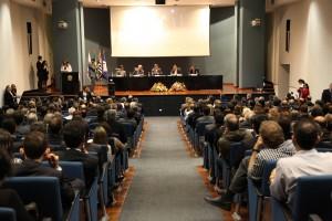 Plenária de encerramento do X ENAT, com Joaquim Levy, Jorge Rachid e Renato Villela