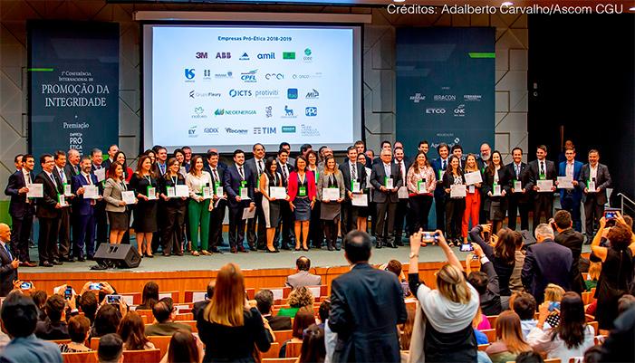 Participation in the 2018-2019 Pró-Ética program