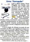 """Livro """"Corrupção"""""""