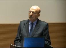Ministro Jorge hage, abrindo a Conferência Lei da Empresa Limpa na FGV